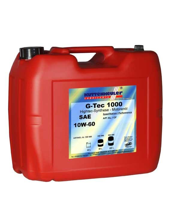 G-TEC 1000  10W60  20L