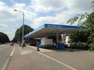 Tankstelle Leverkusen (Schlebusch)